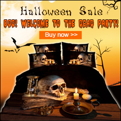 Halloween 3D Bedding Sets form Beddinginn.com